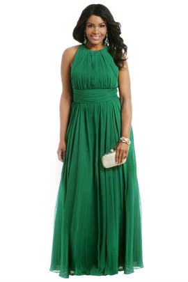 Badgley Mischka - Green Light Ahead Gown