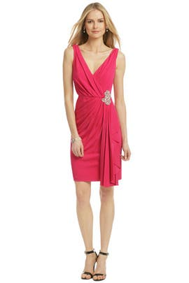 Badgley Mischka - Magenta Royal Standard Dress