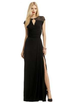 Badgley Mischka - Meshing Around Gown