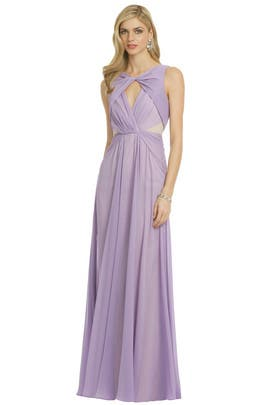 Badgley Mischka - Pastel Petunia Gown