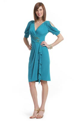 Badgley Mischka - Sea Breeze Dress