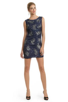 Badgley Mischka - Sleeveless Orion Sequin Orbit Sheath