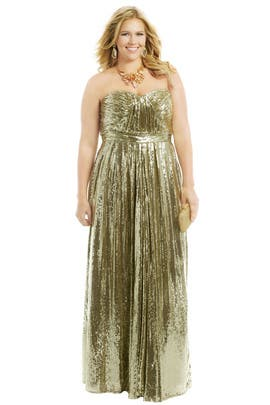 Badgley Mischka - Sound the Alarm Gown