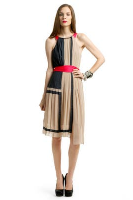 BCBGMAXAZRIA - Color Block Perfection Dress