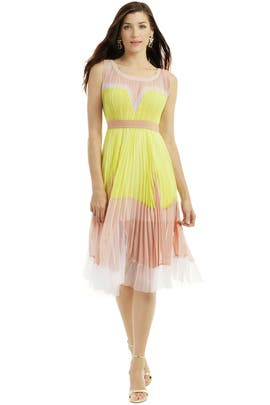 BCBGMAXAZRIA - Sweet Lemon Sorbet Dress