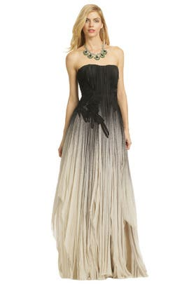Bibhu Mohapatra - Laws Of Gravity Gown