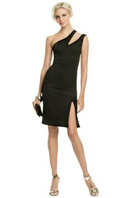 Black Halo - Sultry Cut Out Dress