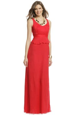 Carlos Miele - Red Pepper Hot gown