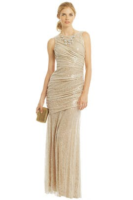 Carmen Marc Valvo - Natural Beauty Gown
