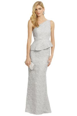 Carmen Marc Valvo - Walking On Clouds Gown