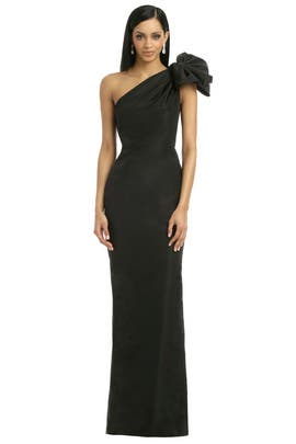 Carolina Herrera - Black Kennedy Gown