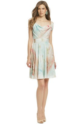 Christian Siriano - Ballet Print Party Dress