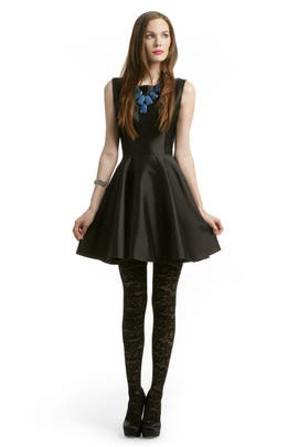 Christian Siriano - Black Mikado Dress