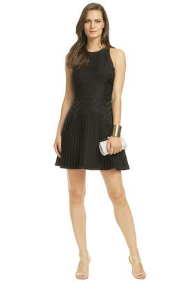 Cushnie Et Ochs - Square Root Zig Dress