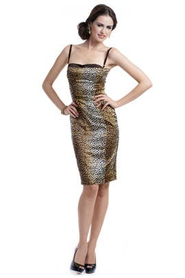 D&G by Dolce and Gabbana - Leopard Looker Dress