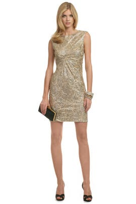 David Meister - Gold Lela Lace Dress
