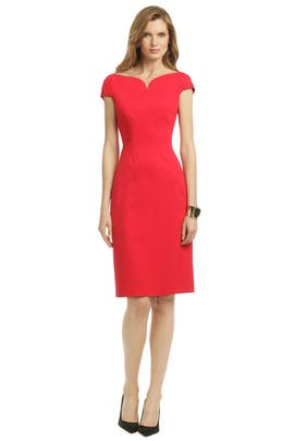Elie Tahari - Wine Glass Dress