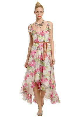 Elizabeth and James - Monet Flower Maxi