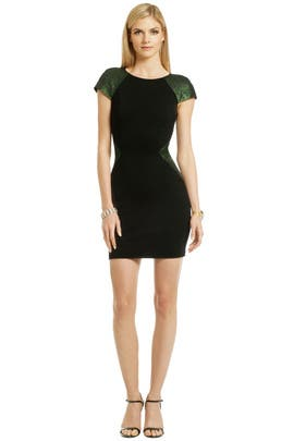 ERIN by erin fetherston - Touch of Emerald Dress