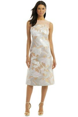 Giles - Pegasus Jacquard Dress