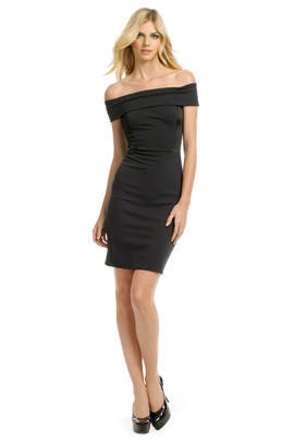 Halston Heritage - Black Eclipse Dress