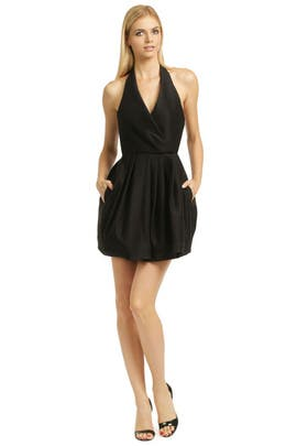 Halston Heritage - Call The Kettle Black Dress
