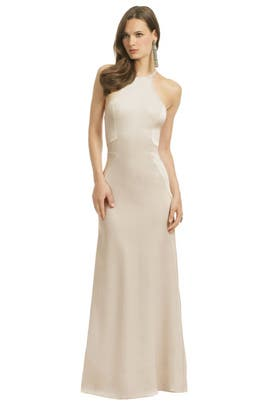 Halston Heritage - Cold As Ice Gown