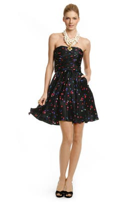 Halston Heritage - Confetti Dot Dress