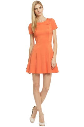 Halston Heritage - Goldfish Dress