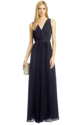 Halston Heritage - Paparazzi Pleat Gown