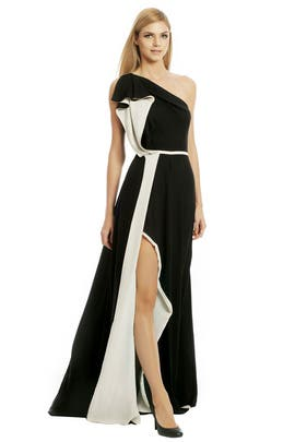 Halston Heritage - Pleasing To The Eye Gown