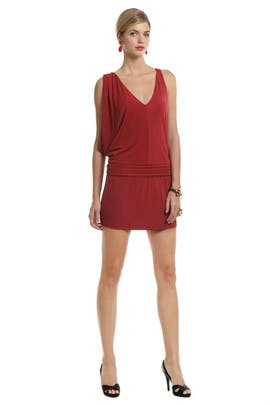 Haute Hippie - Crimson Crush Mini Dress