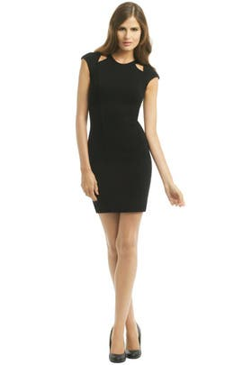 Helmut Lang - Gala Cutout Sheath