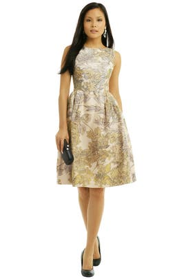 Honor - Foliage Cocktail Dress