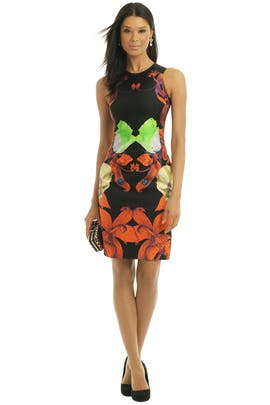 Josh Goot - Flower Brocade Dress