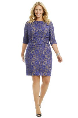 Kay Unger - Blue Beauty Dress
