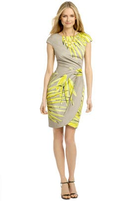 Lela Rose - Costa Rica Palm Dress