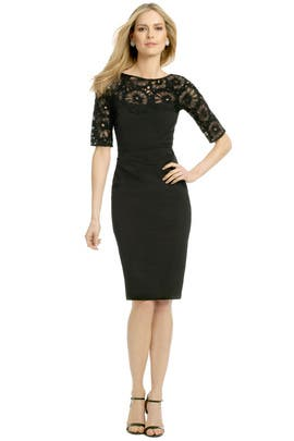 Lela Rose - Look and Lace Dress