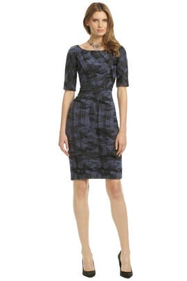 Lela Rose - Paint In Motion Dress