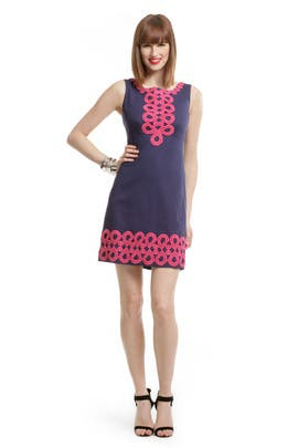 Lilly Pulitzer - Adelson Pink Swirl Sheath