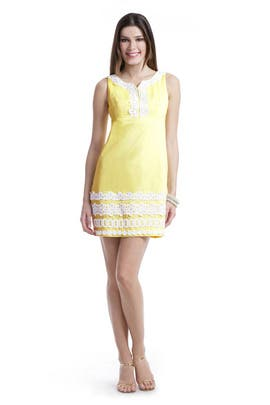 Lilly Pulitzer - Dolly Lace Shift Dress