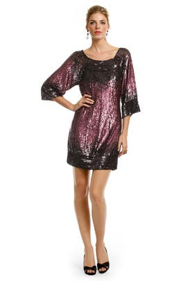 Mark & James by Badgley Mischka - Cabernet Sequin Kiss Dress