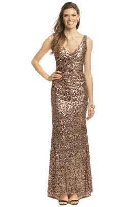 Mark & James by Badgley Mischka - Crystal Pop Gown