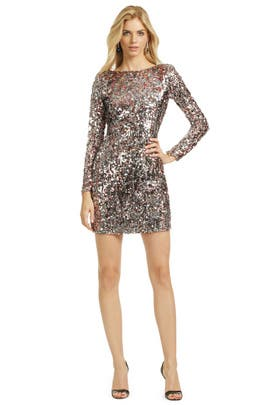 Mark & James by Badgley Mischka - Mini Sequin Pixie Dress
