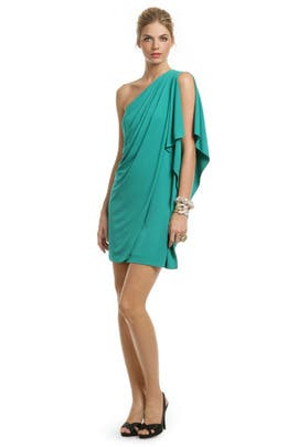 Mark & James by Badgley Mischka - Teal Draped Dream Dress