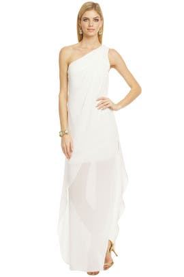 Mark & James by Badgley Mischka - White Out Dress
