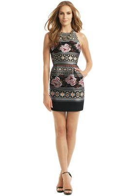 Matthew Williamson - Floral Folk Weave Dress