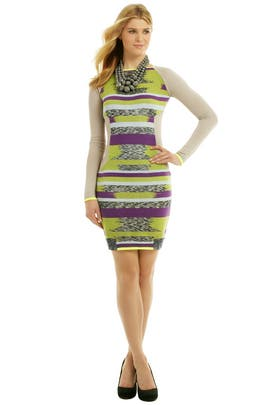 Matthew Williamson - Knit It In Neon Dress