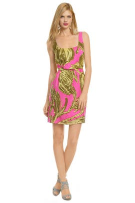 Milly - Neon Pink Punch Dress