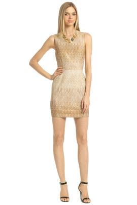 Missoni - Gold Serenity Dress